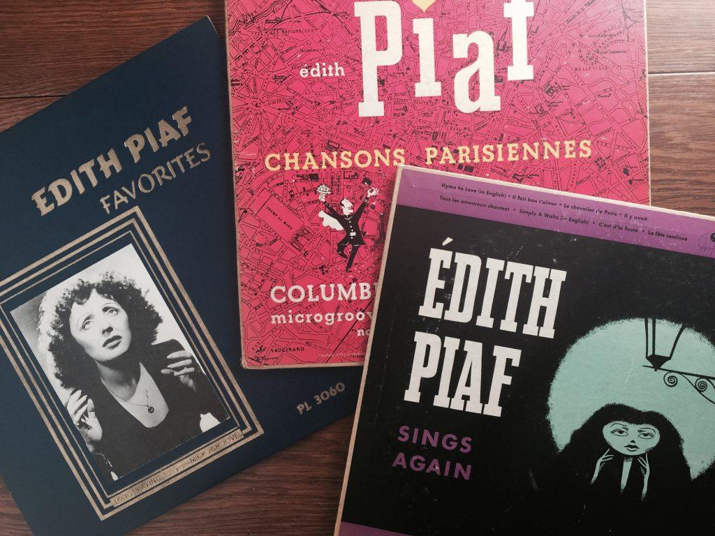 Edith Piaf albums