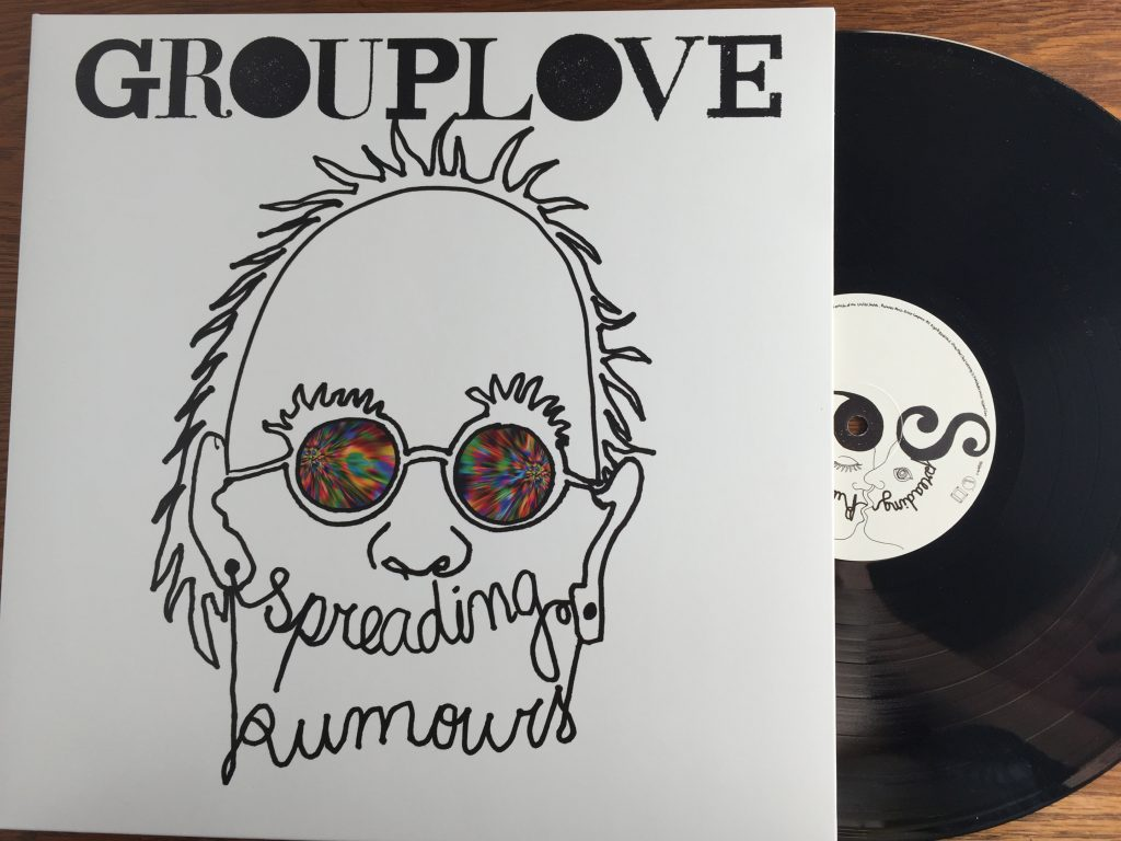 Grouplove Spreading Rumours vinyl record LP