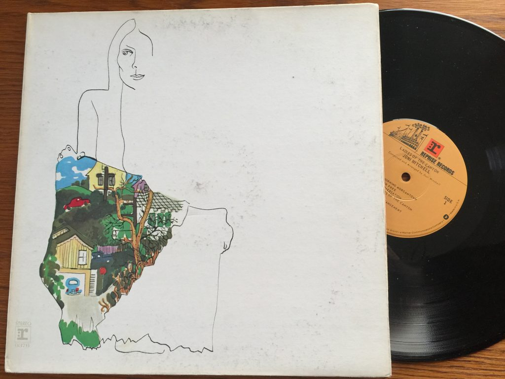 Joni Mitchell Ladies of the Canyon vinyl album
