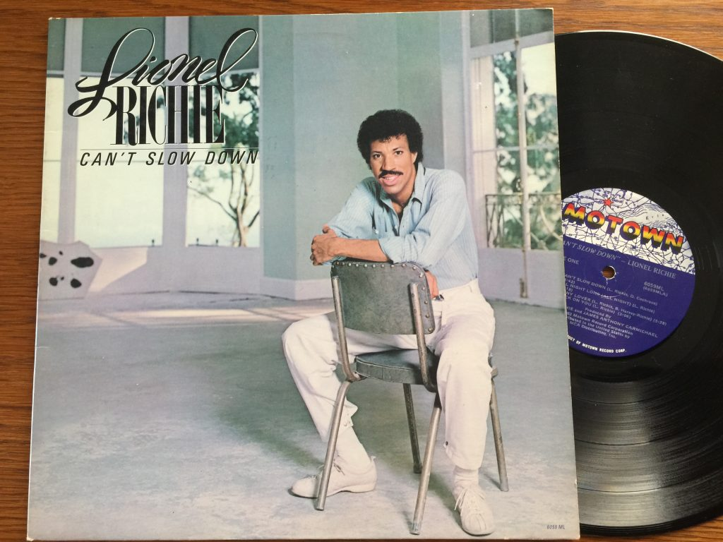 Lionel Richie Can't Slow Down Vinyl Album LP