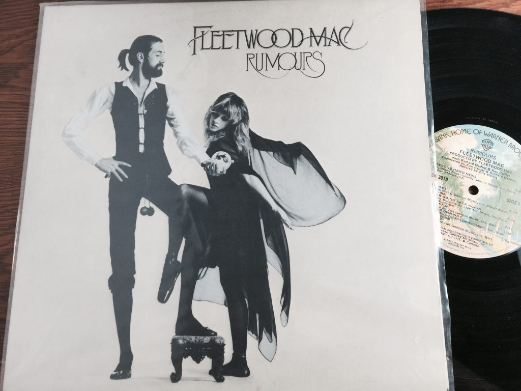 Fleetwood Mac Rumours Album LP vinyl