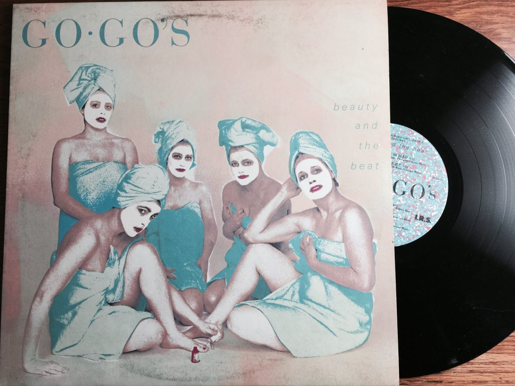 Go Gos Beauty and the Beat Album vinyl LP