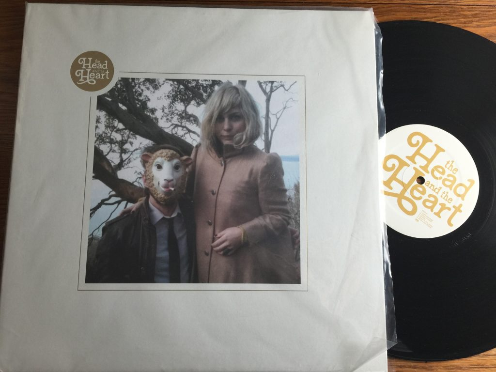Head and the Heart vinyl album LP
