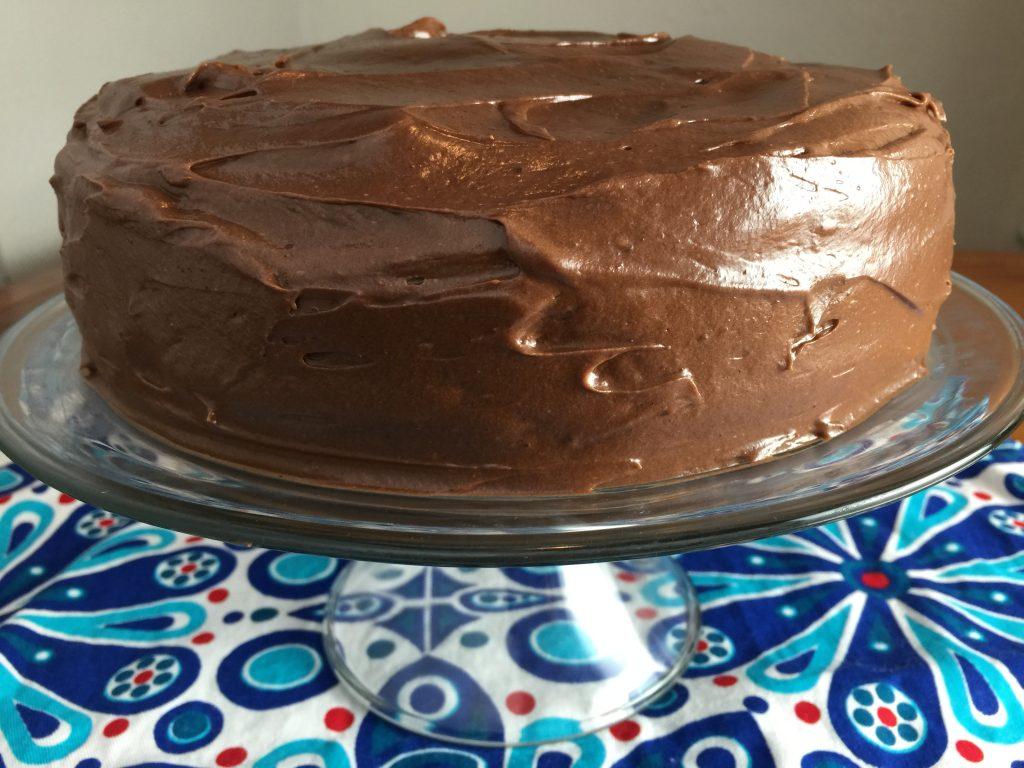 Moist chocolate cake