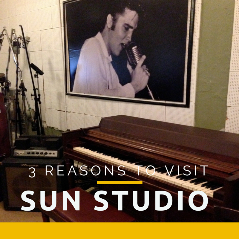 3 reasons to visit sun studio