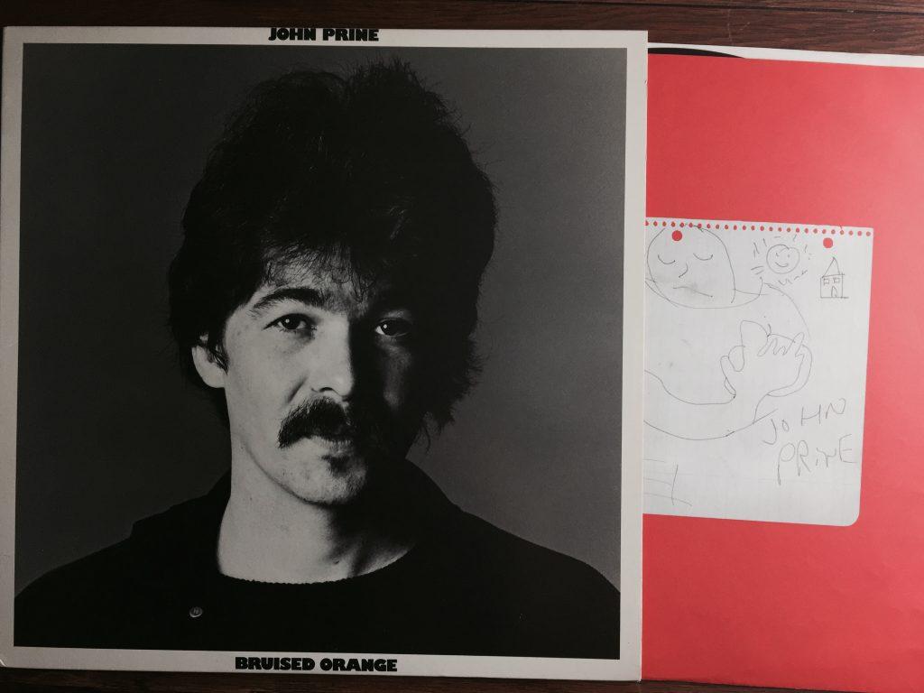 John Prine Bruised Orange vinyl LP album