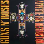 Guns N' Roses Appetite for Destruction album vinyl LP