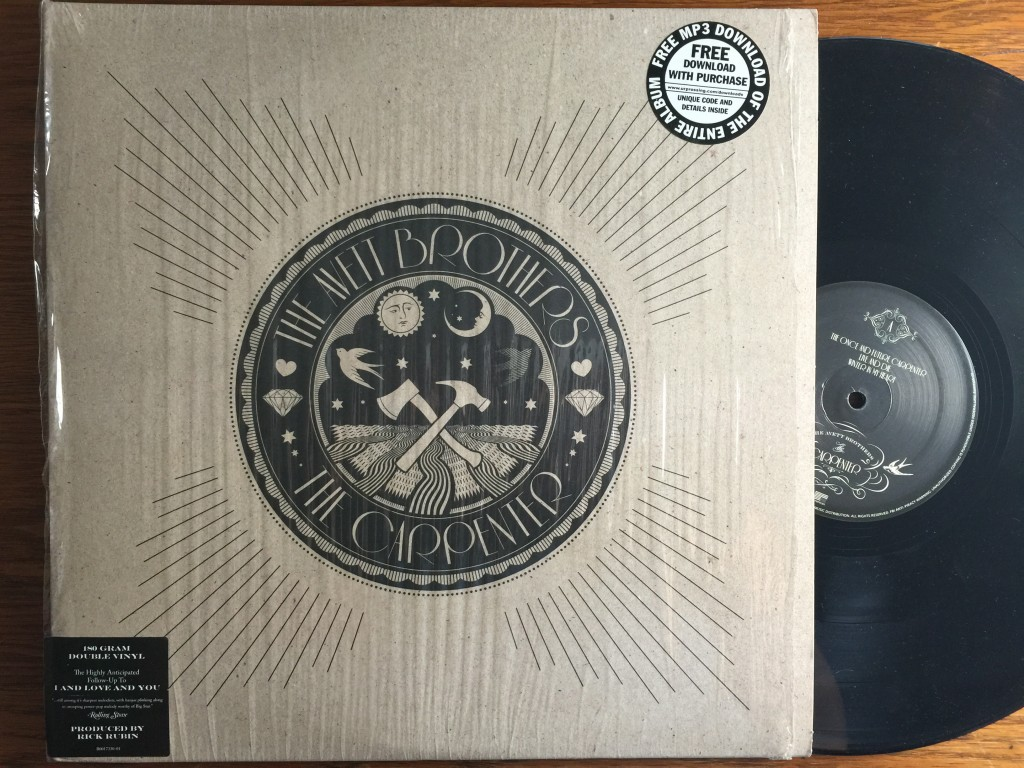 Avett Brothers The Carpenter vinyl record album LP