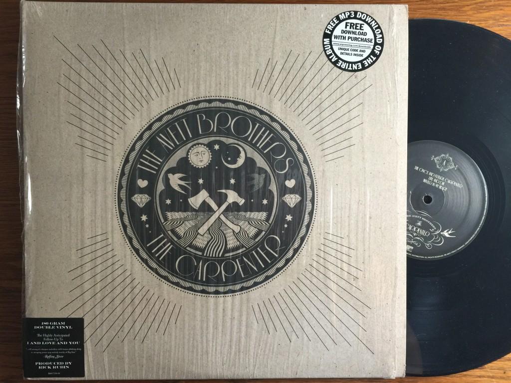 Avett Brothers The Carpenter vinyl record album LP