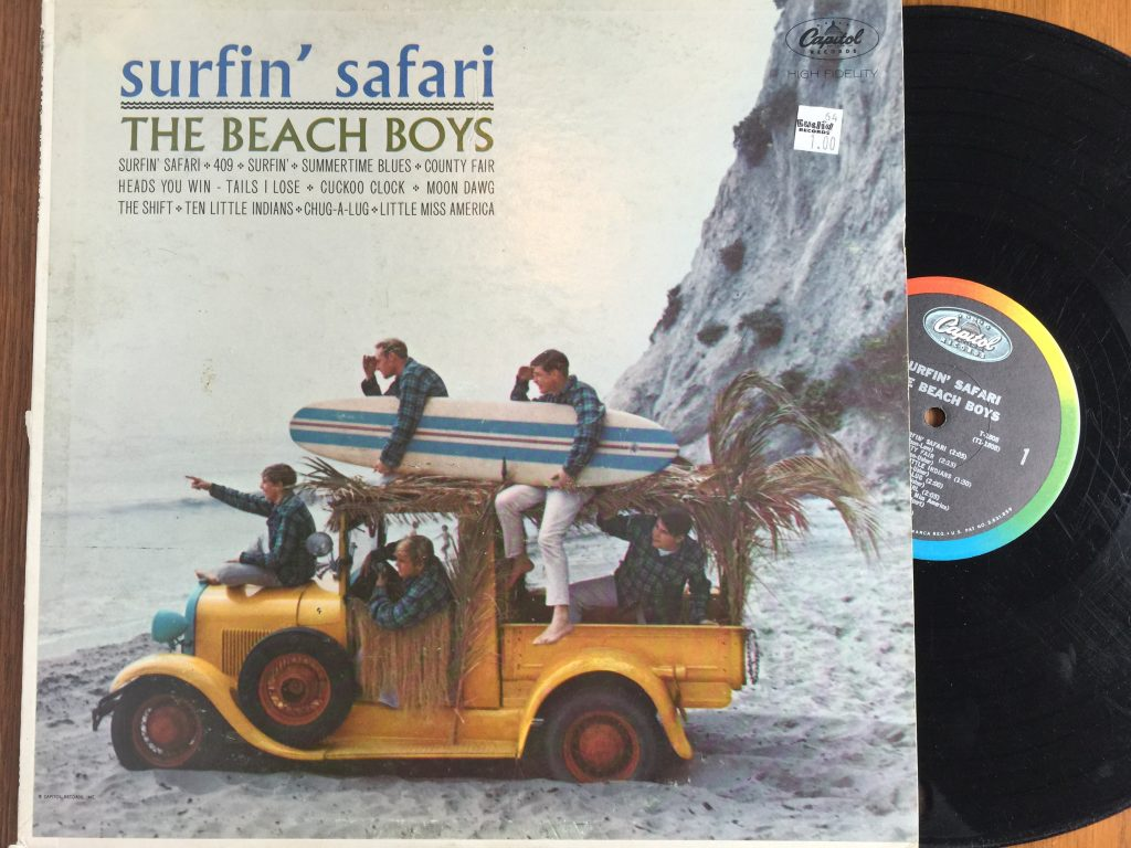 Beach Boys Surfin' Safari album