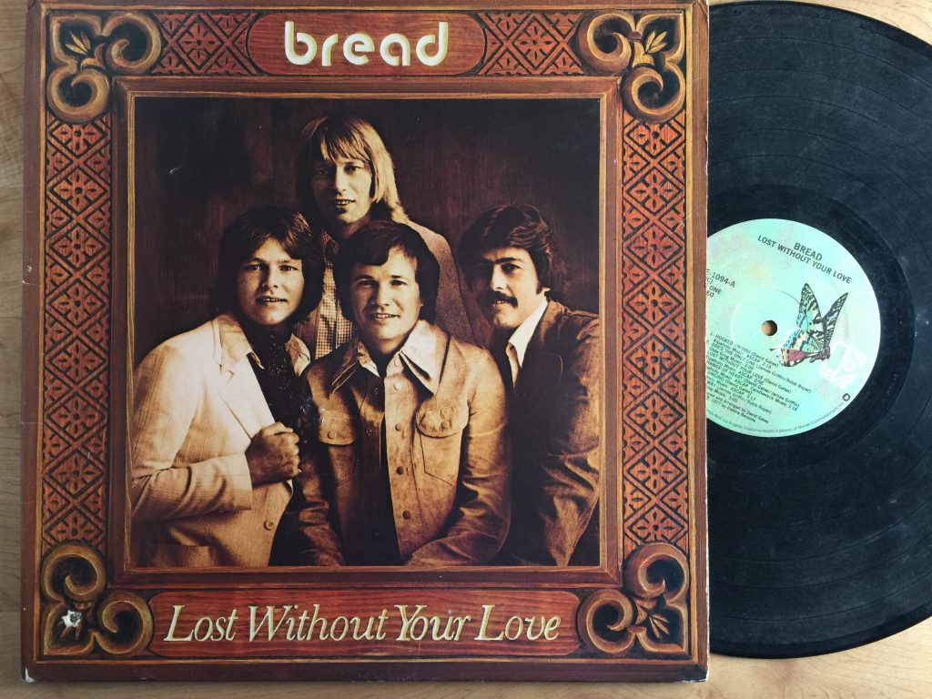 Bread Lost Without Your Love album