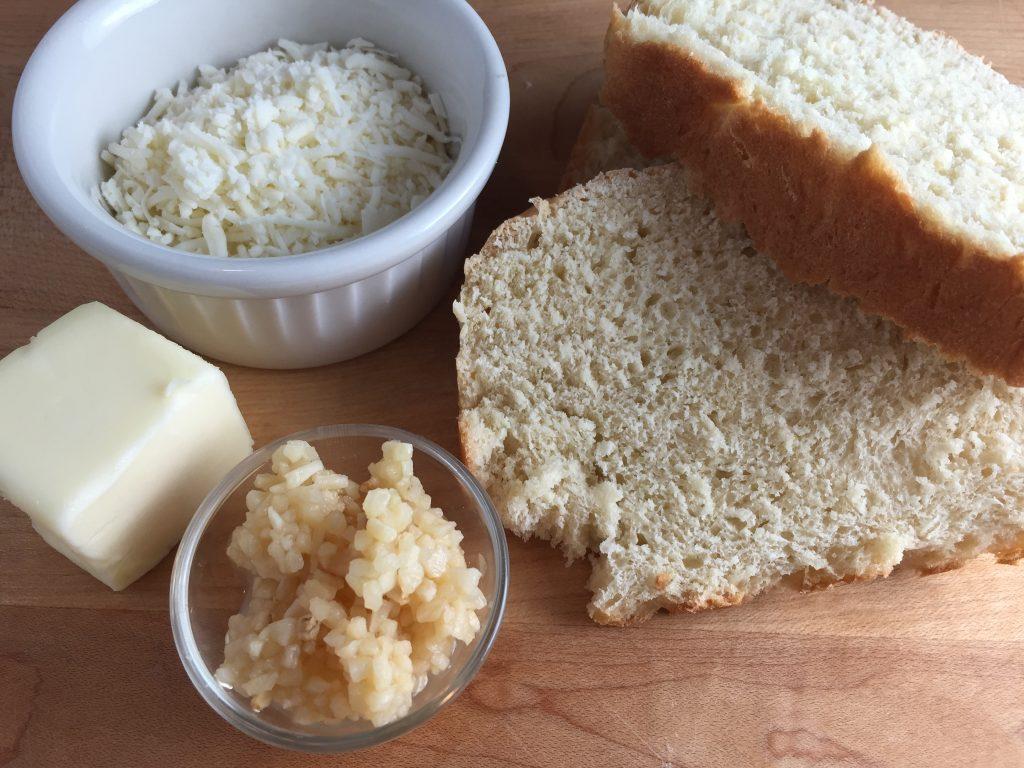Asiago Garlic Bread ingredients