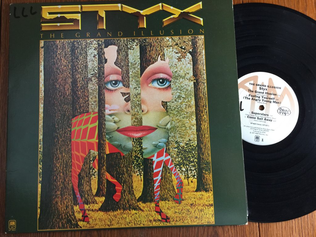 Styx The Grand Illusion album