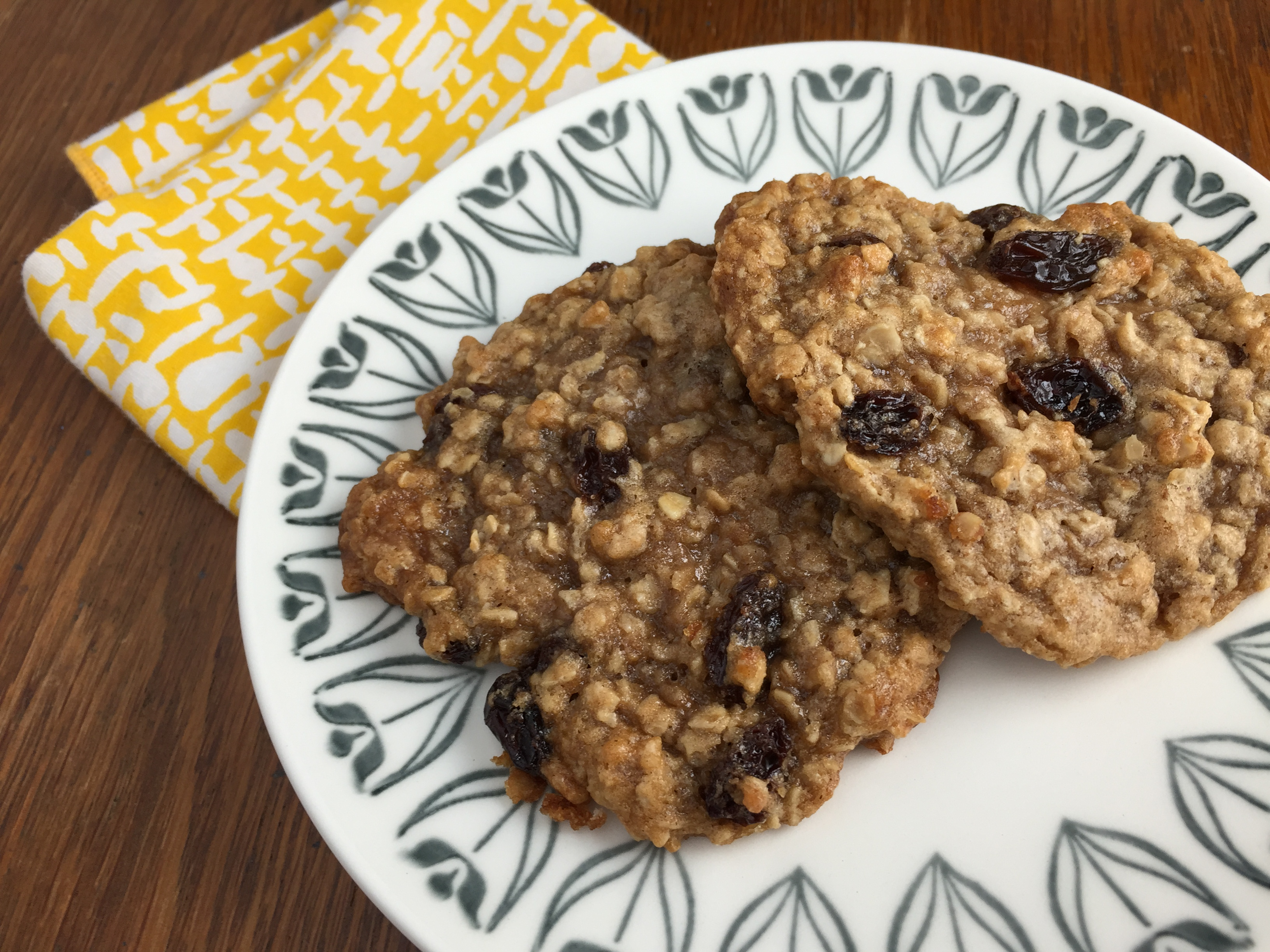 "Duet: Oatmeal Raisin Cookies / ""Here Today"""
