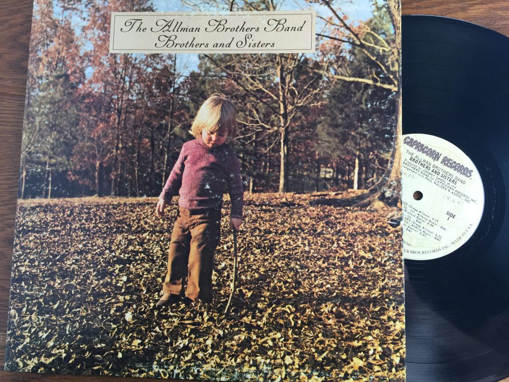 Allman Brothers Band vinyl record