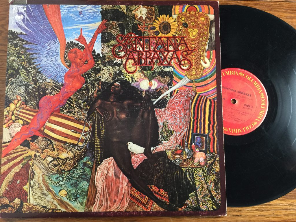 Santana Abraxas Vinyl Album