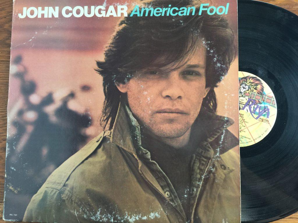 John Cougar American Fool Album vinyl
