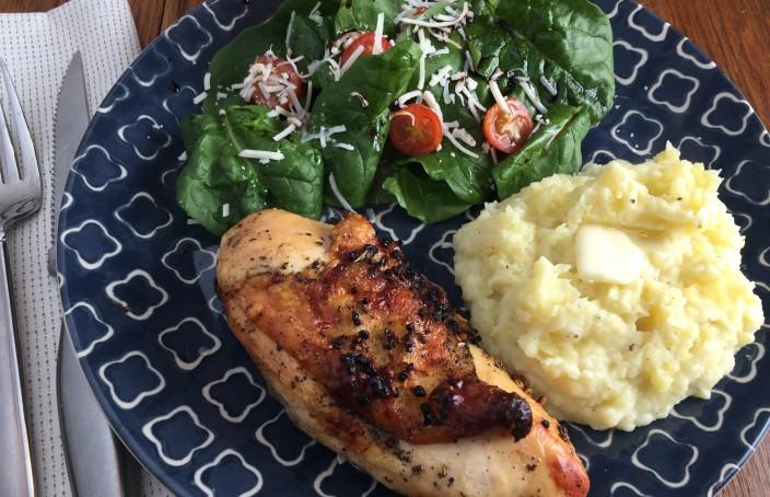Moist Roasted Chicken Recipe