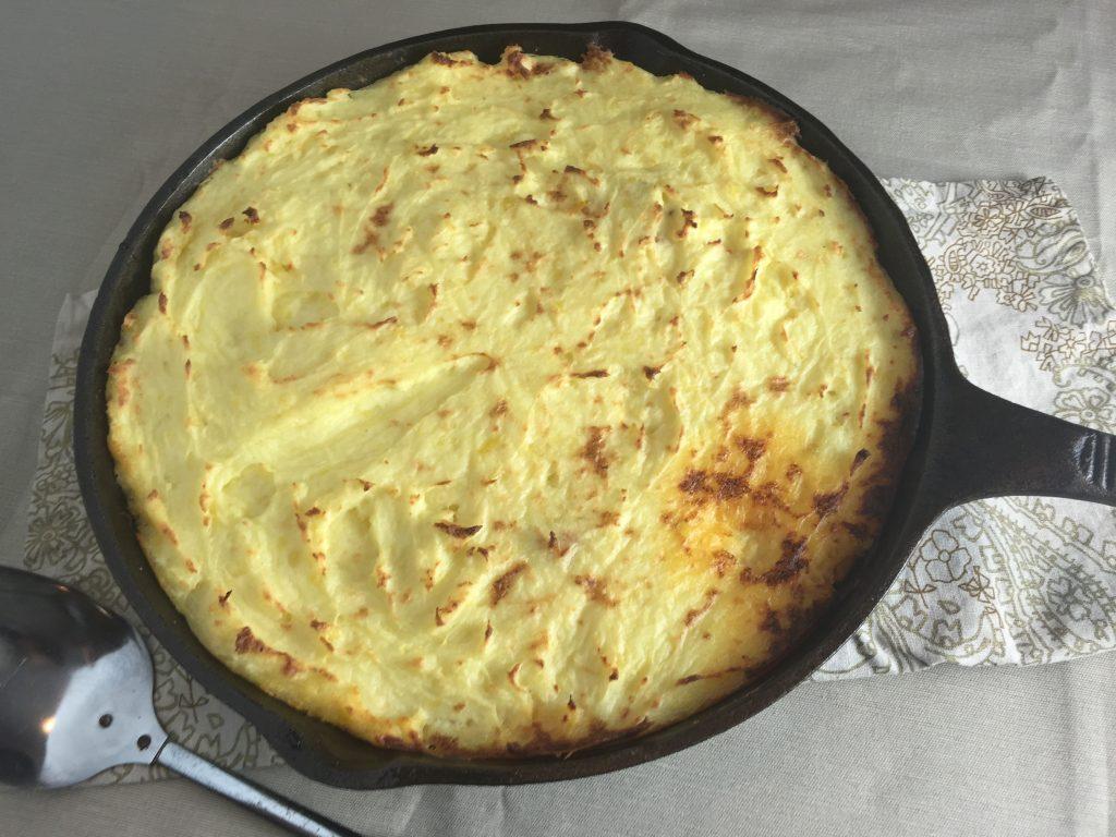 Shepherds Pie in Skillet
