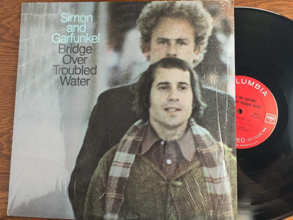 Simon and Garfunkel Bridge Over Troubled Water vinyl album