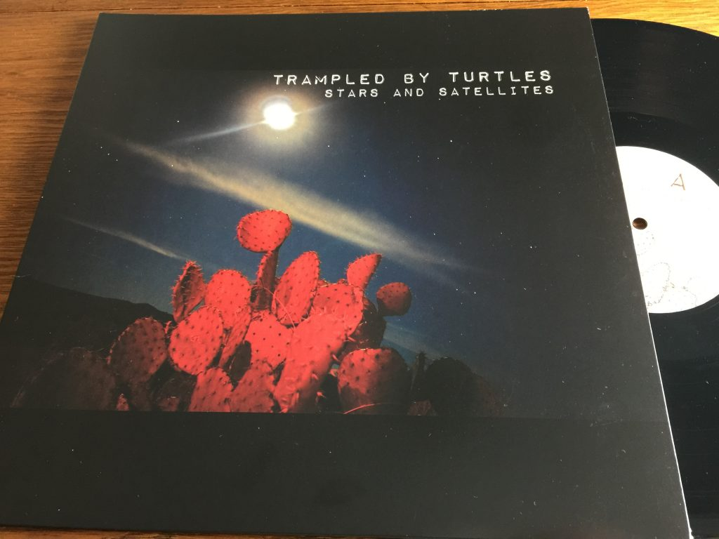 Trampled by Turtles Stars and Satellites LP vinyl album