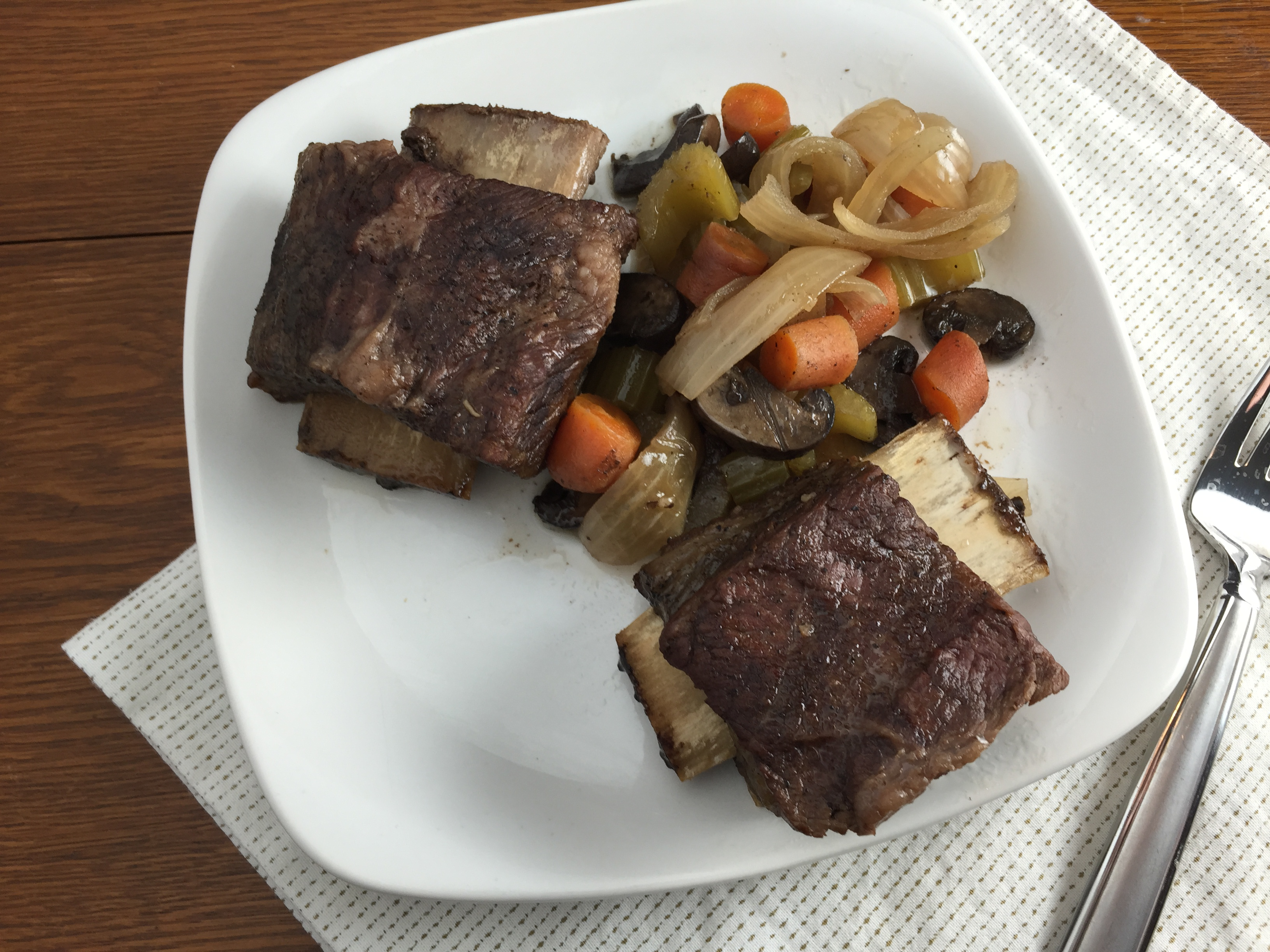 Duet: Beer Braised Short Ribs in a Slow Cooker / The Head and The Heart