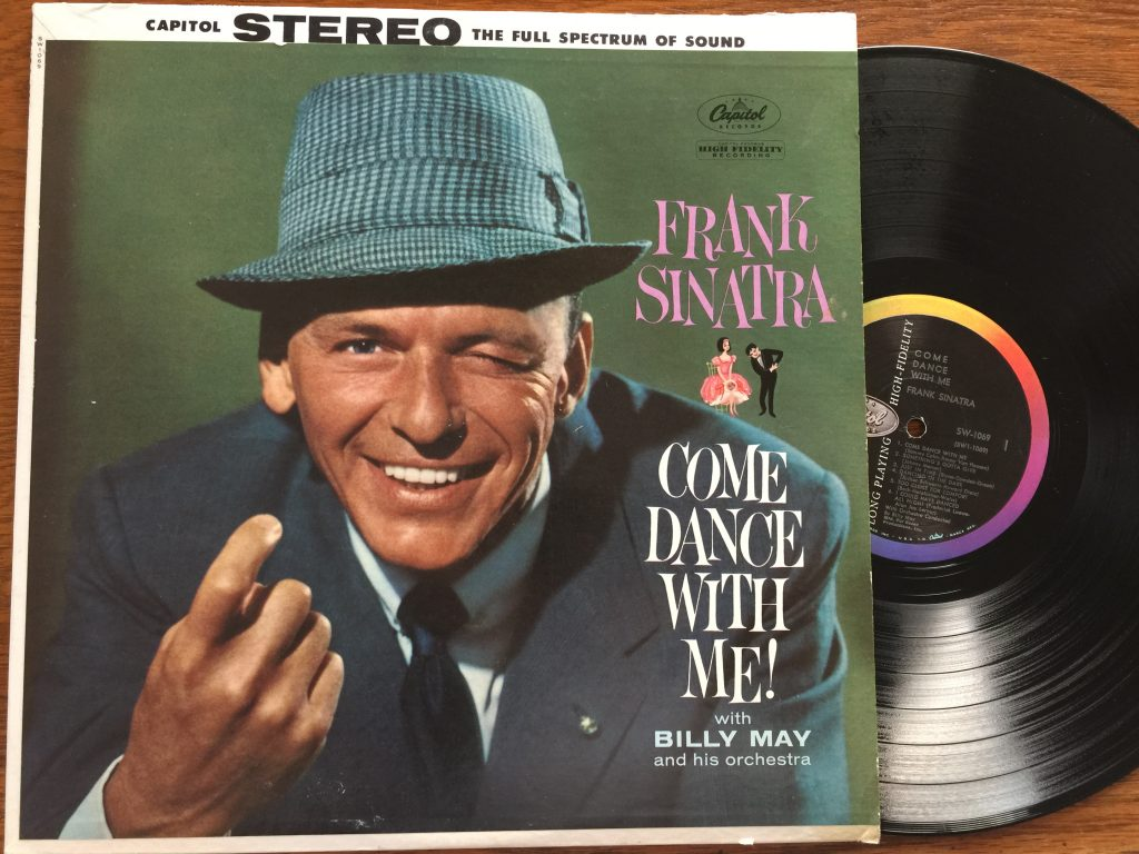 Frank Sinatra Come Dance With Me vinyl LP record album from CookingWithVinyl.com