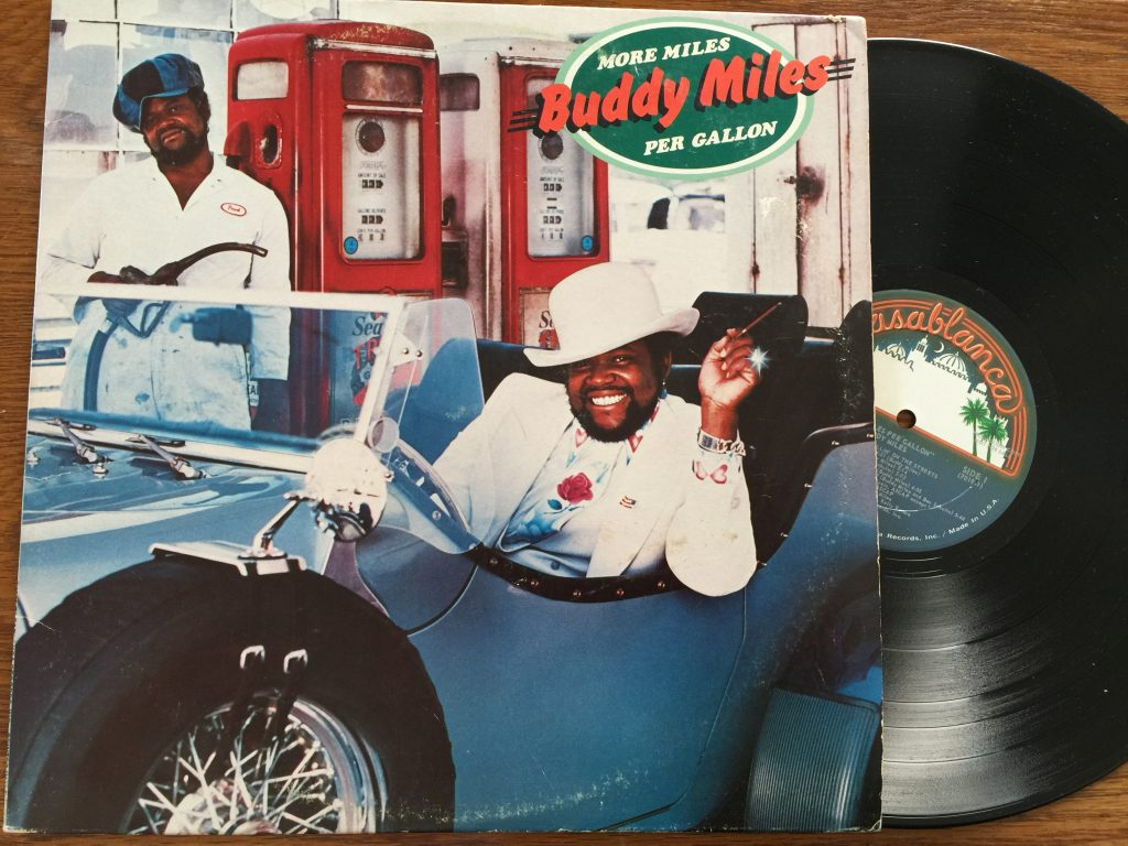 Buddy Miles More Miles Per Gallon vinyl LP record