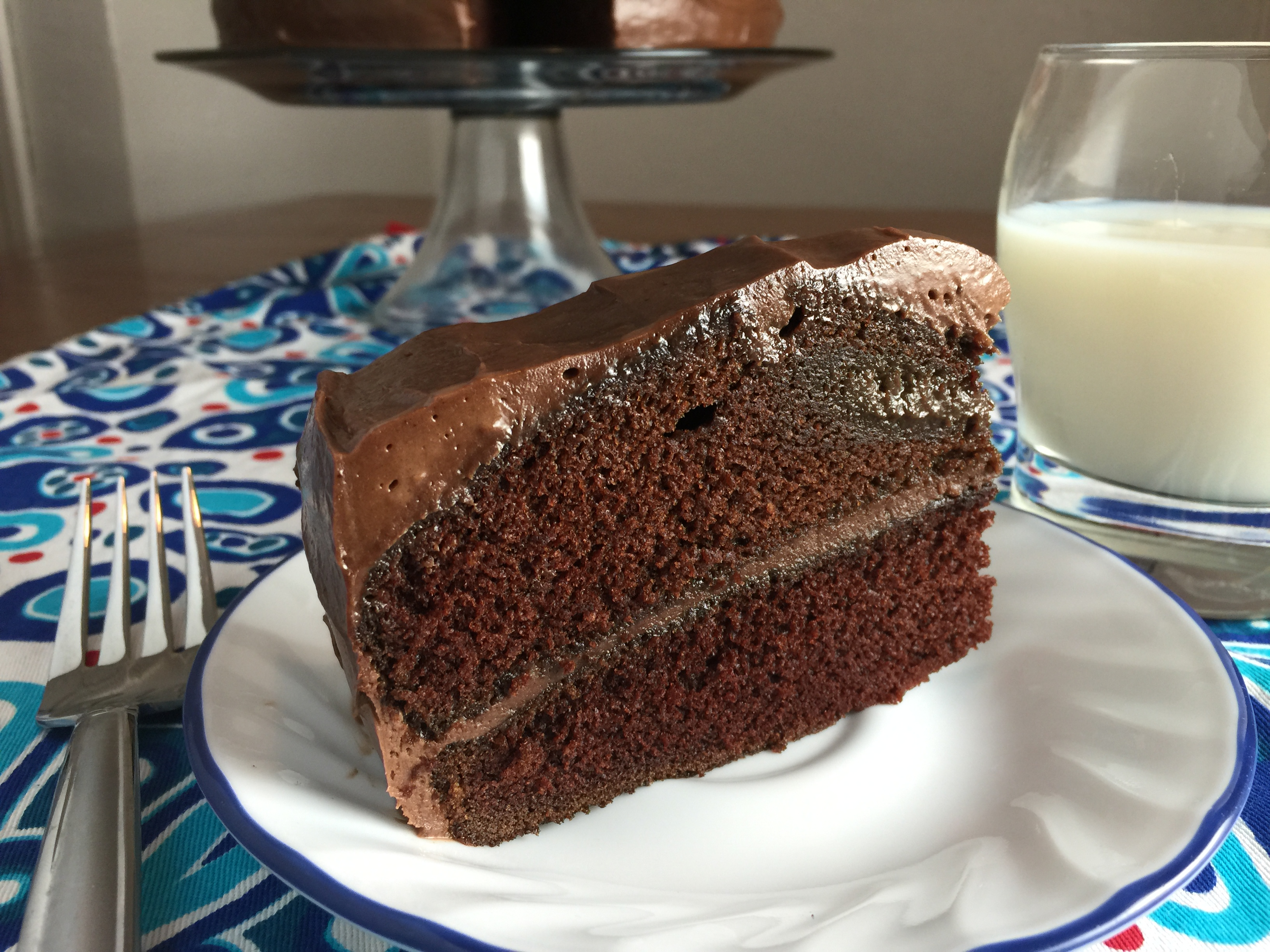 "Duet: Moist Chocolate Cake / Ella Fitzgerald ""Early Ella: Great Ballads by Ella Fitzgerald"""