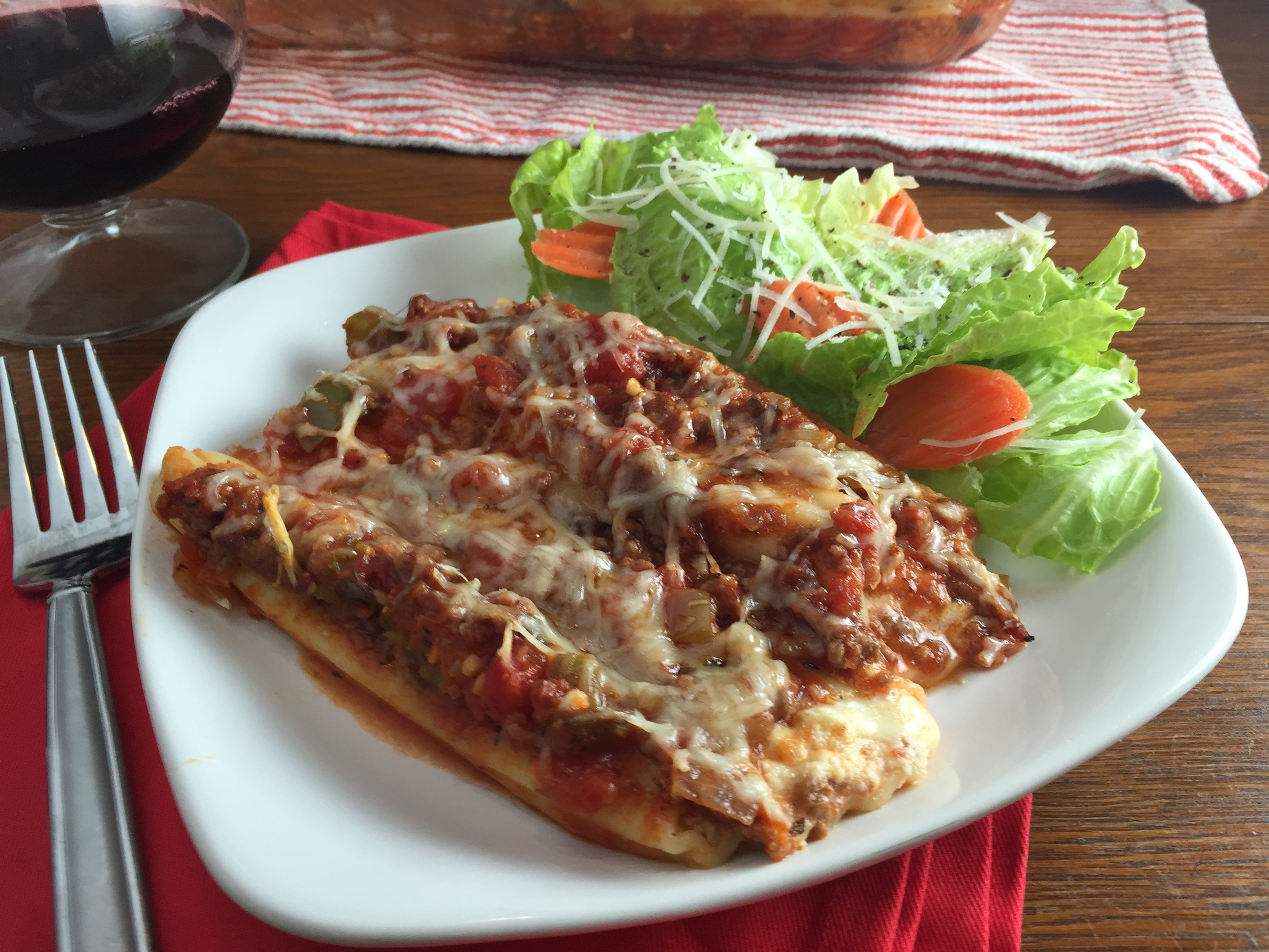 "Duet: Cheese Manicotti / Billy Joel ""The Stranger"""