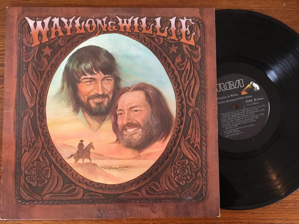 Waylon & Willie vinyl album