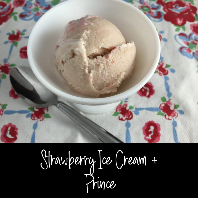 "Duet: Strawberry Ice Cream / Prince ""Purple Rain"""