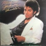 Michael Jackson thriller album vinyl LP